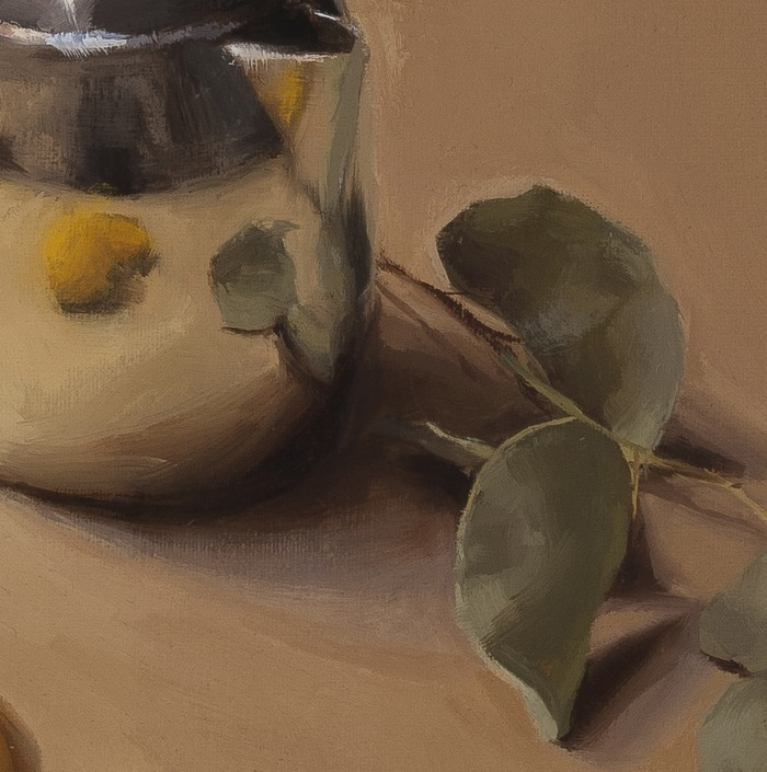detail of Still Life with Teapot