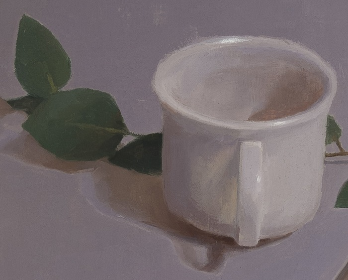 detail of Still Life with Teacup