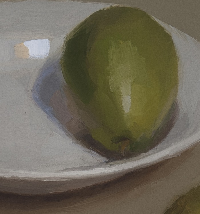 detail of Still Life with Pears