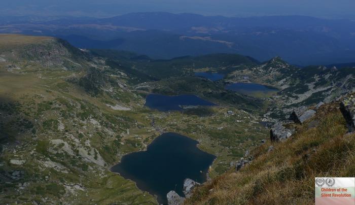 Four of the Seven Rila Lakes