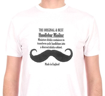 The Handlebar Minibar T-shirt