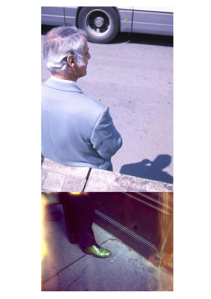 1945, ilfochrome 35mm slide & polaroid 669, 2010