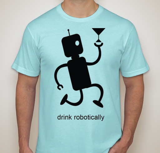 Drink Runner T-Shirt - Front