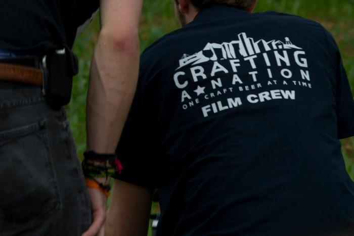 Our Film Crew Work Shirts, Yours with a $100 contribution