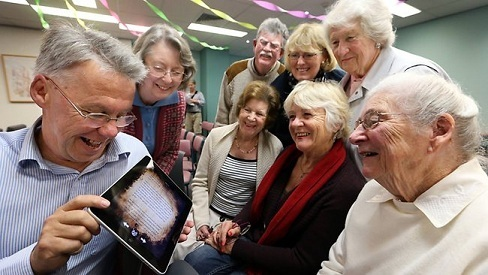 Seniors excited about the iPad