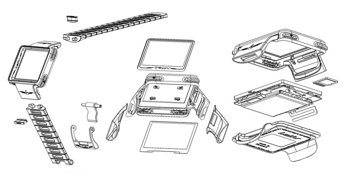 Mechanics: exploded views