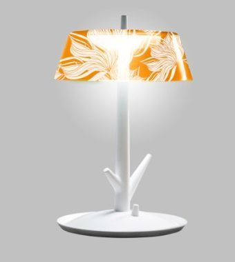 Lamp Shade With Floral Prints