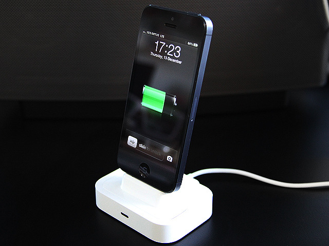 The iPhone 5 on a Flybridge using a Universal 30-pin dock