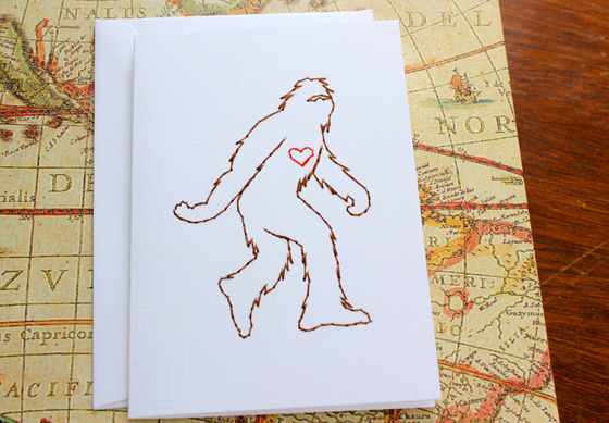 This is the infamous Sasquatch card (best seller).