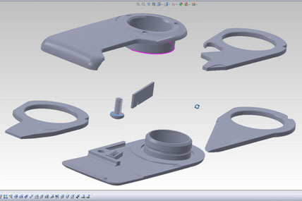 CAD of Multi-Tool Hard App