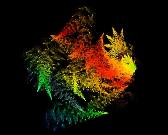 9.► Rainbow Sparklers