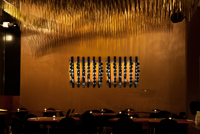 LUMI Wine Wall in a restaurant, winery or wine bar