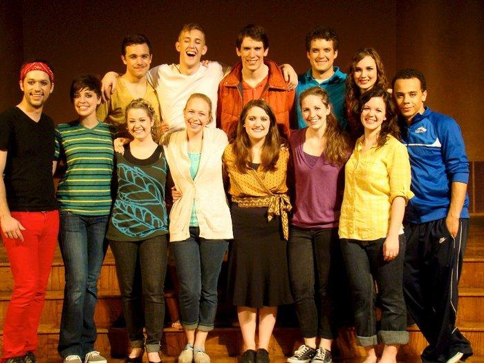 Ad Vivum Godspell Cast 2011-2012
