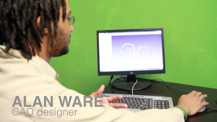 Our amazing CAD genius-Alan Ware