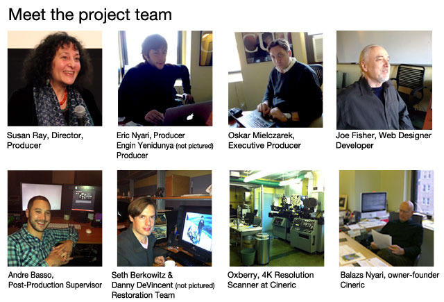 Meet the project team, and take a peek at the facility