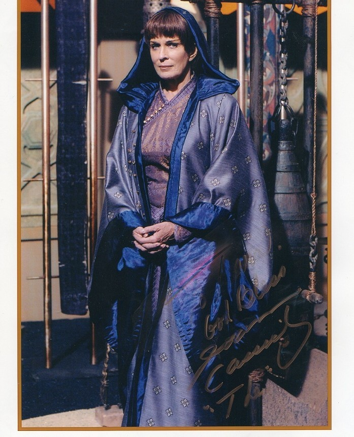 "JOANNA CASSIDY Autographed photo 8"" x 10"" from Enterprise"