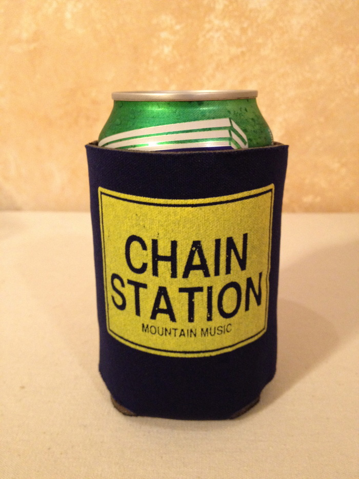 Chain Station Koozie