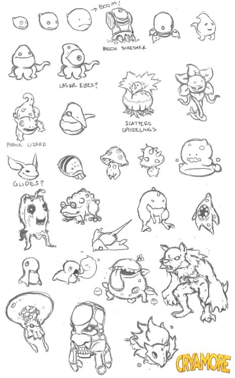 Various Mob Concepts