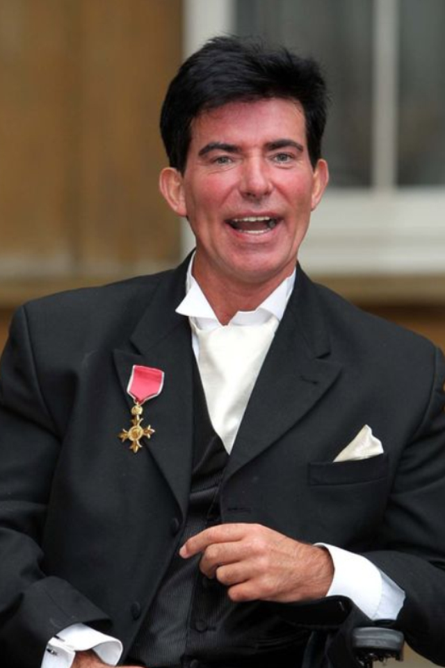 Eddie Kidd recieves OBE from Prince Charles