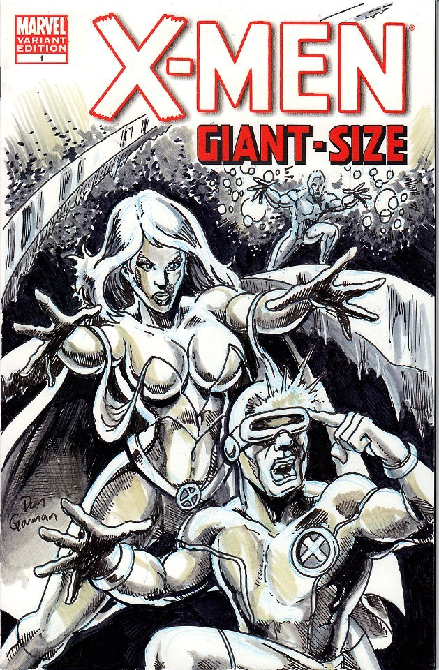 The Dan Gorman Sketch cover with $70.00 pledge.