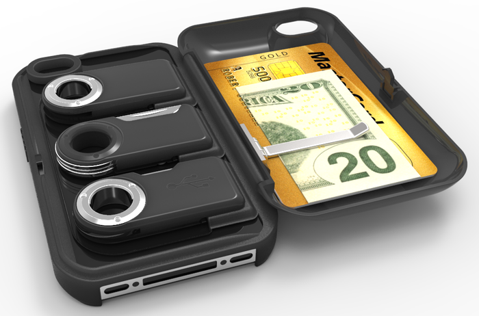 Prototype model of iPhone4 wallet
