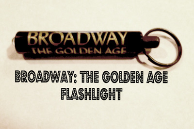 BROADWAY: THE GOLDEN AGE FLASHLIGHT/KEYCHAIN