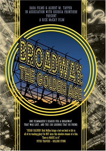 BROADWAY: THE GOLDEN AGE DVD