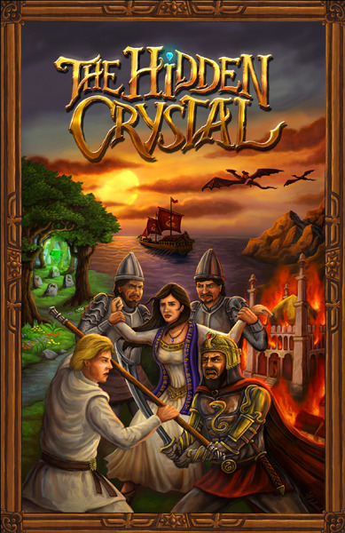 The Hidden Crystal cover