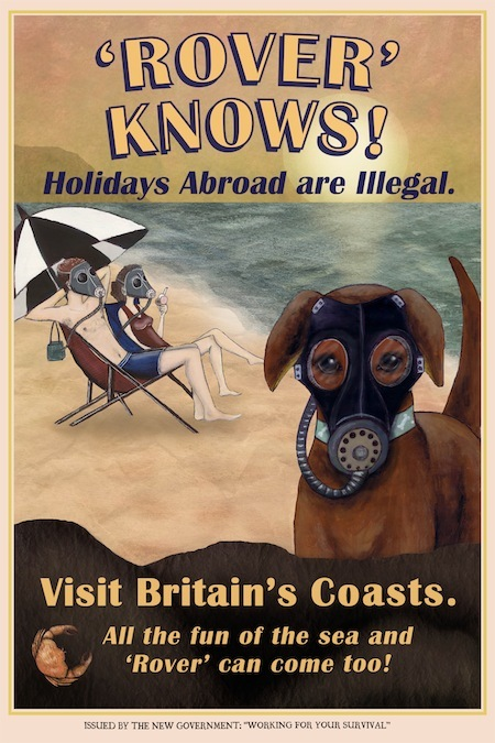 Poster D: 'Rover Knows' by Rowan Corlett (A1 size)
