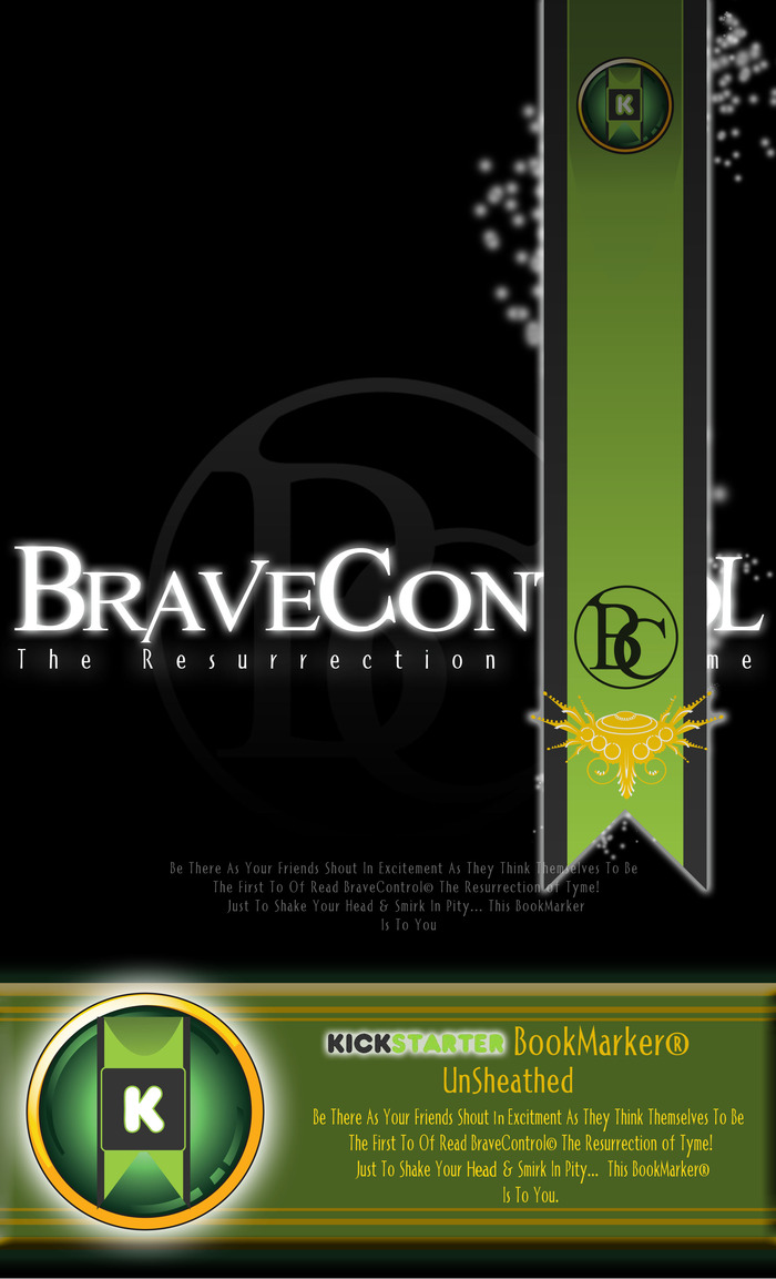 Screenshot of BraveControl© The Resurrection of Tyme Digital Release BookMarker® Unlock