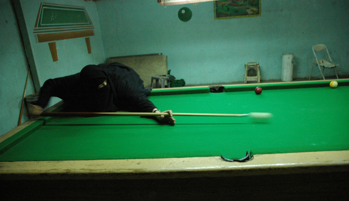 Playing Pool, Yemen