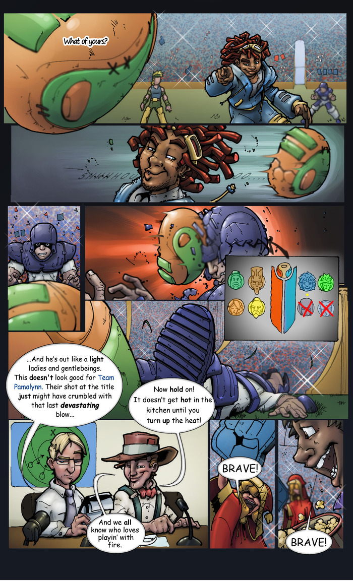 BraveControl© The Resurrection of Tyme Novel Page Three