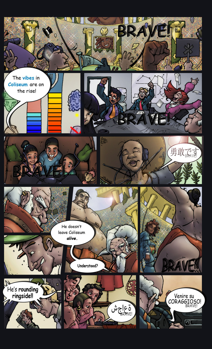 BraveControl© The Resurrection of Tyme Novel Page Four