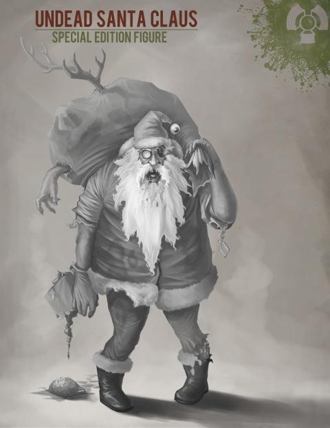 Zombie Santa Concept