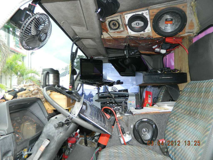 Dumptrucks to Desktops Cab Computerized in 2006 Daily Driver!  Passenger Fit no problem Cab also shown in introductory Video above