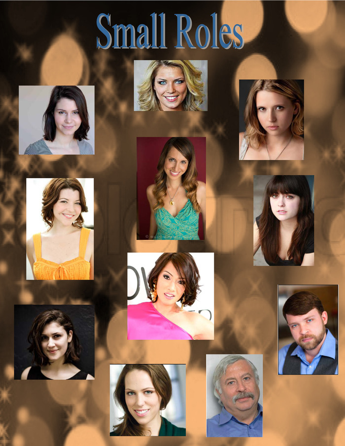 Anna Demidova, Suzana Chernyavskaya, Audrey Kovar, Ryan Ervin, Aaron Cohen, Meredith Burns, Alex Sarrigeorgiou, April Louise, Casey Hayes, Alex Covington & Kioni (Top Center, Clockwise, Center)