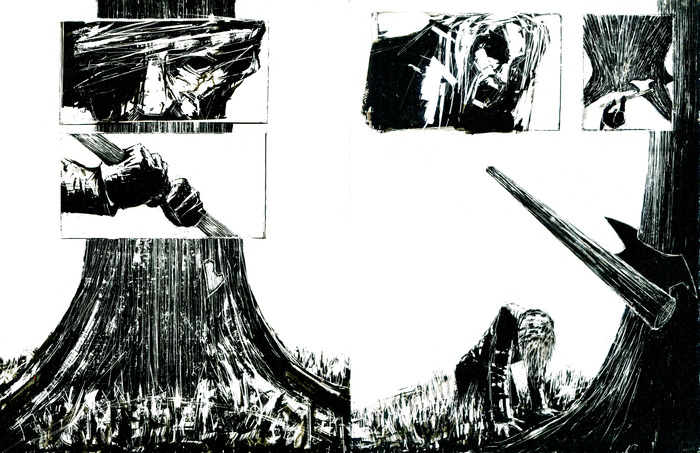 Preview from the first act of the GRAPHIC NOVEL.
