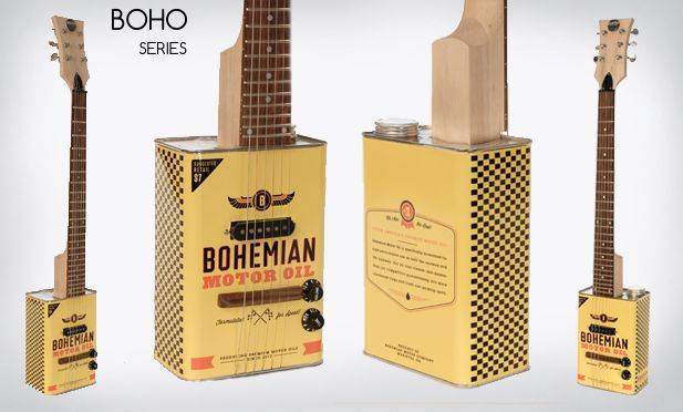 BOHO Motor Oil Electric Guitar