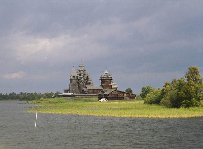 View of the island of Kizhi.