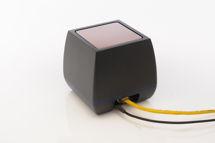 Qube's ethernet and power connections