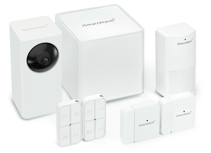 ismartalarm iphone controlled home security system intelligent and affordable indiegogo. Black Bedroom Furniture Sets. Home Design Ideas
