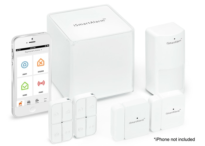 ISmartalarm, a System to Ensure Your Home with Control from The IPhone