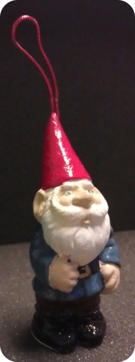 A guest's gnome, they were kind enough to come back with him for a photo.