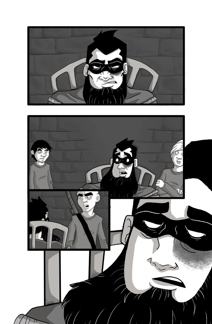 A sample page from the comic (work in progress)