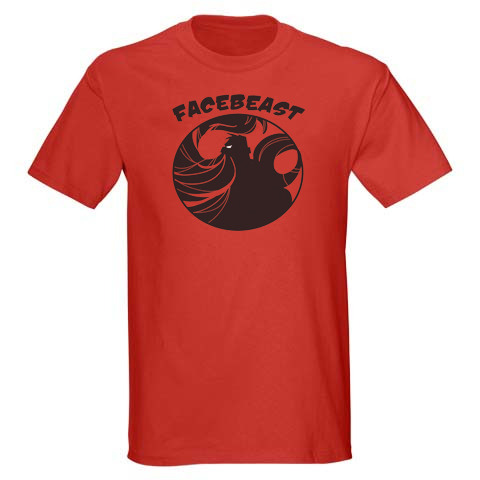 A Facebeast t-shirt goes to every backer who pledges $30 or more!
