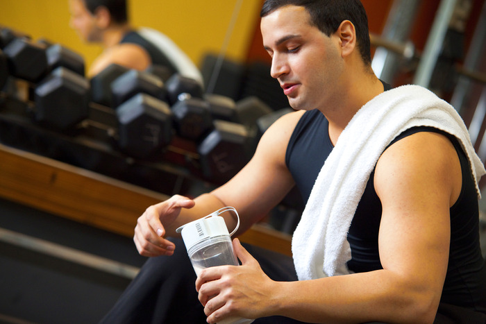 Enjoy your clump-free shake the moment you are finished your workout!