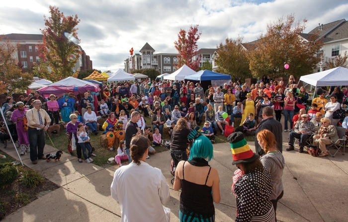 More than 3,000 guests and their dogs attended our 4th annual Barktoberfest festival in October 2012