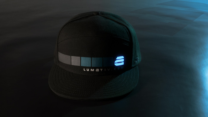 "The ""8Bit"" in LUMATIV Blue"