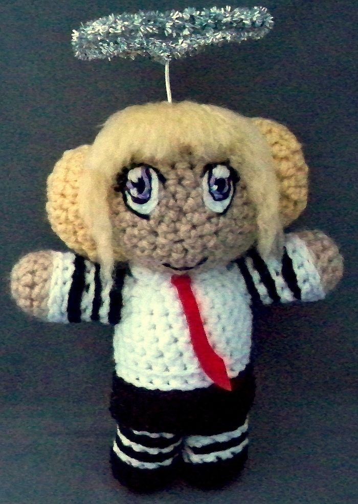 One of the rewards for donating to the Affairs of the Mind: Chibi plush dolls by Lady Lindsay's Creations!