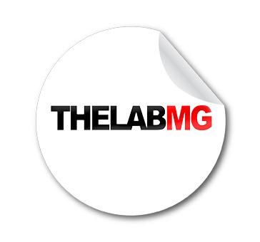 TheLabMG Sticker
